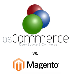 osCommerce vs Magento